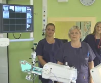 Na področju interventne radiologije pomembno timsko delo