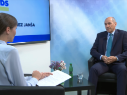 Janša v pogovoru o slovenskem šolstvu in zdravstvu ter zgledu Madžarske