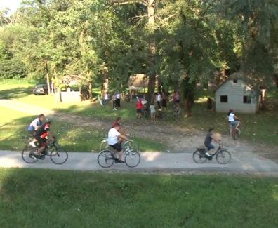 Domoljubno kolesarjenje v Črenšovcih