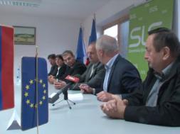 Predstavitev županskih kandidatov stranke SLS