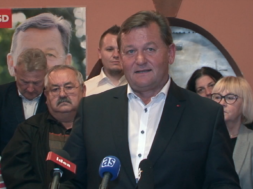Aleksander Jevšek predstavil kandidaturo