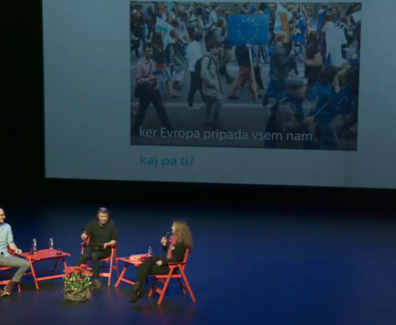 Skečoholiki spodbudili mlade za evropske volitve