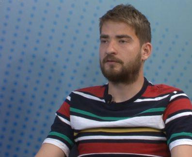 Nik Lorbek pred pokalno tekmo z NK Maribor