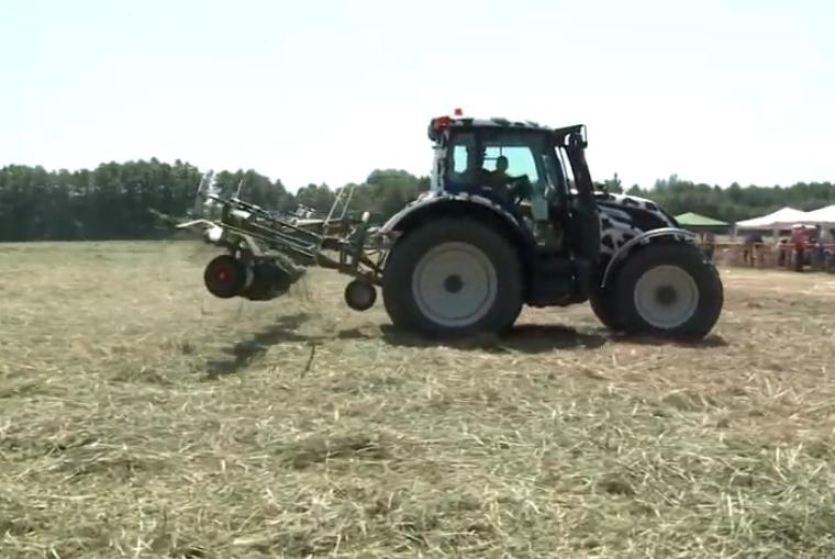 Predstavitev traktorjev in priključkov Fendt in Valtra