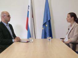 Pogovor z evropsko poslanko Ireno Jovevo in evropskim poslancem Milanom Brglezom