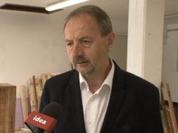 Obisk gospodarskega ministra v Centru ponovne uporabe v Ključarovcih