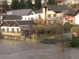 Pomurski dnevnik: Poplavljanje reke Drave (19. 11. 2019)