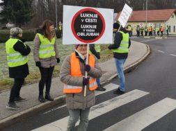 Protest v Gederovcih