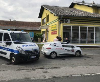 Policist oropal banko na Cankovi