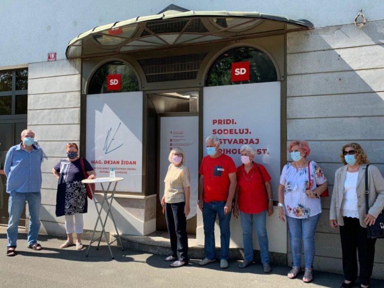 Stranka SD odprla nove prostore v centru mesta