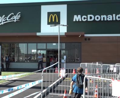 V Murski Soboti odprli težko pričakovani McDonald's