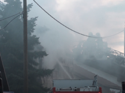 Požar hiše v središču mesta, škode za okrog 70 tisočakov