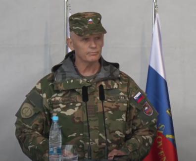 Obeležitev dneva slovenske vojske